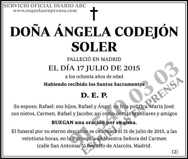 Ángela Codejón Soler